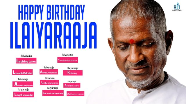 Ilayaraja Birthday Special Video